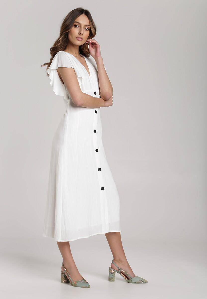 Biała Sukienka Elithei