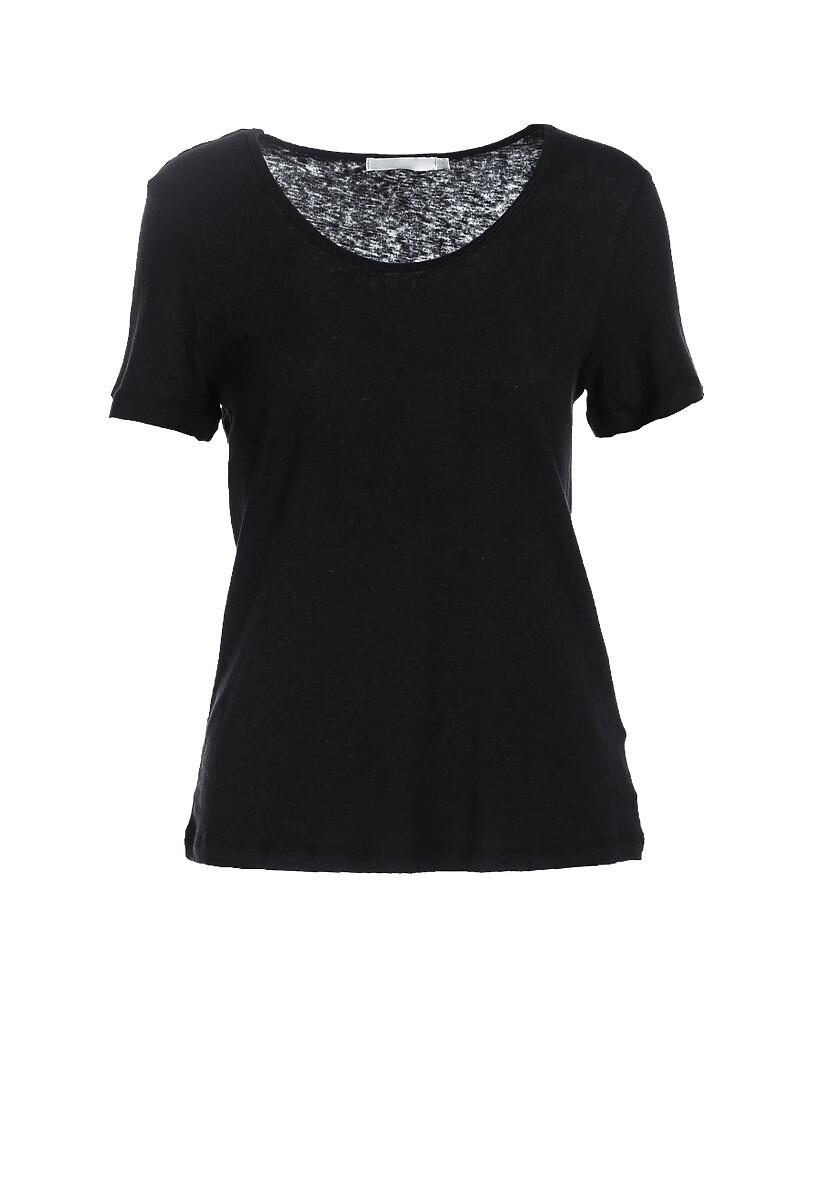 Czarny T-shirt Menithoe