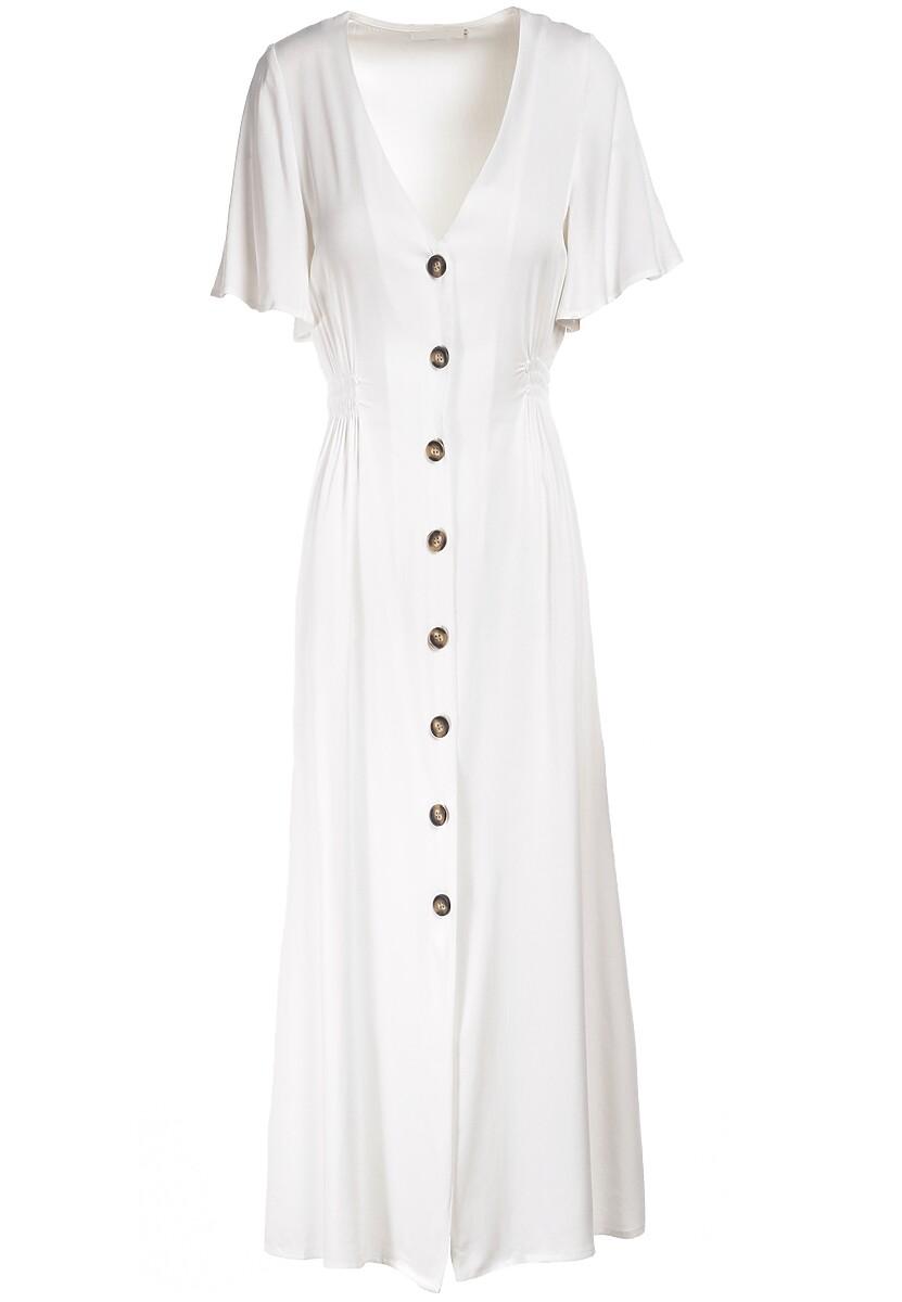Biała Sukienka Jenierinda