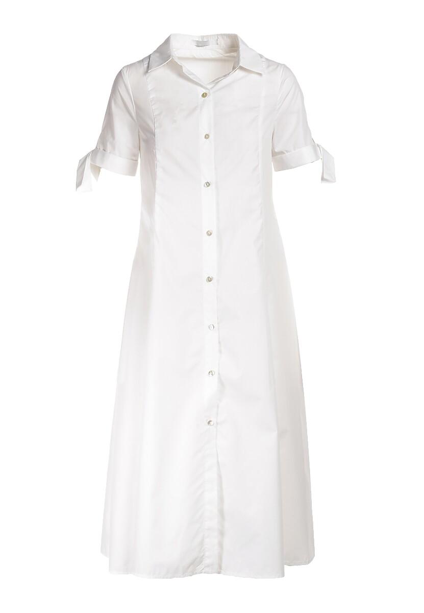 Biała Sukienka Liles
