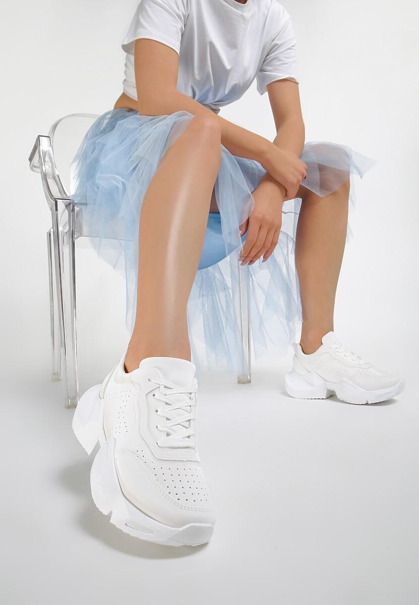 Białe Sneakersy Hitiax
