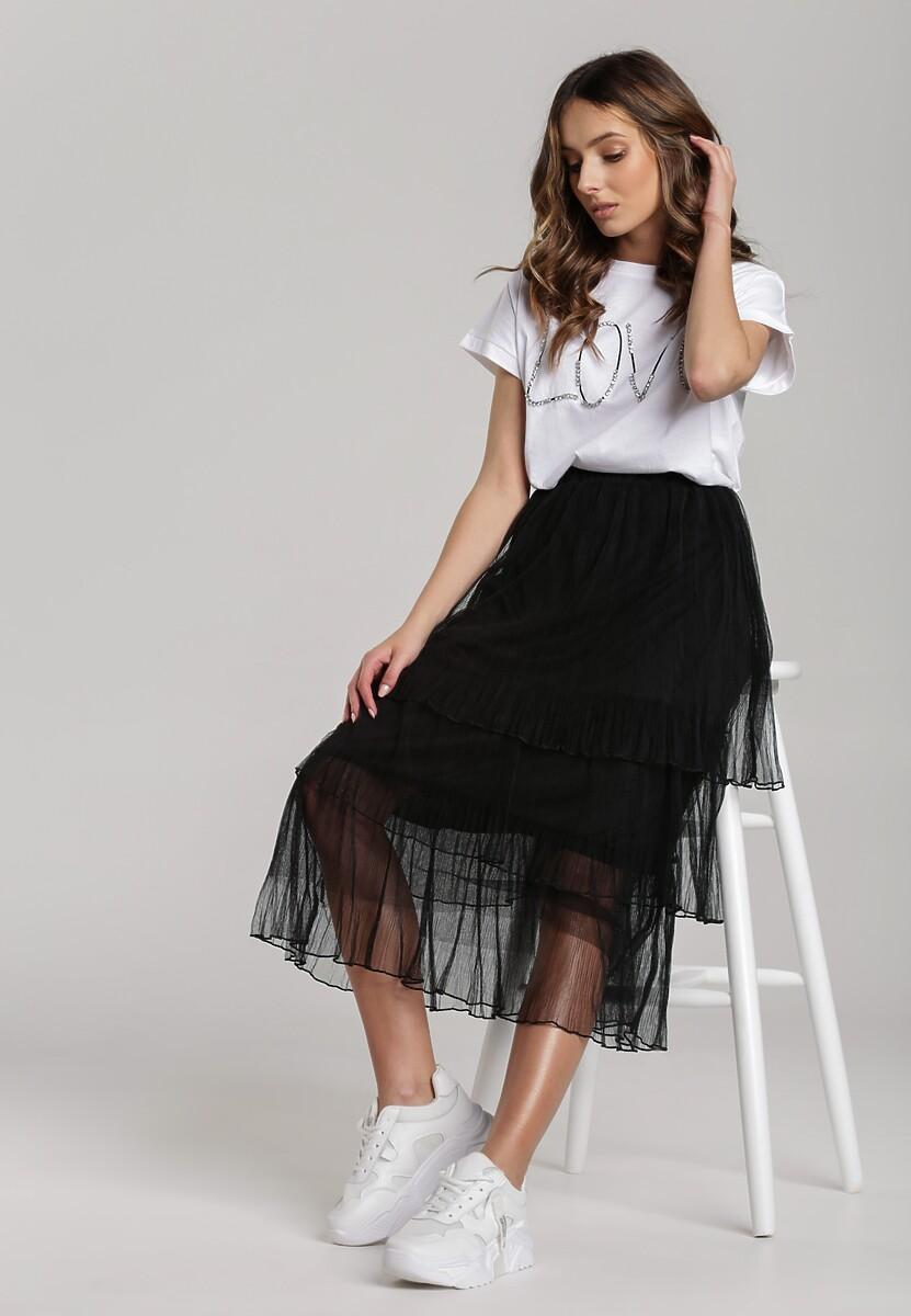 Czarna Spódnica Rhodope