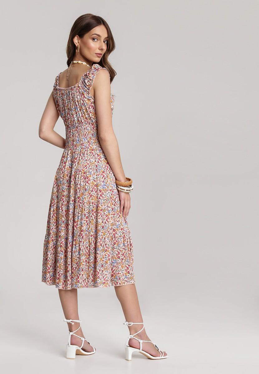 Jasnoróżowa Sukienka Moremilia