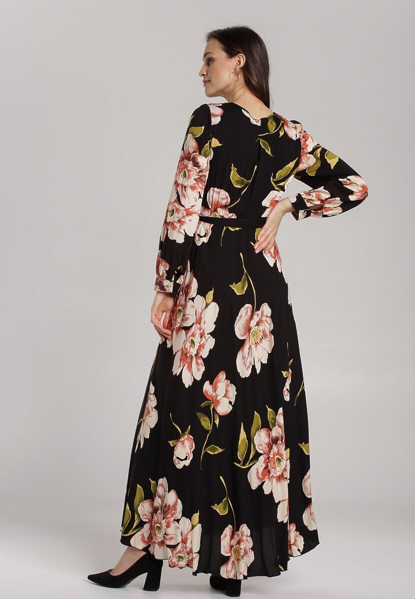 Czarna Sukienka Replete