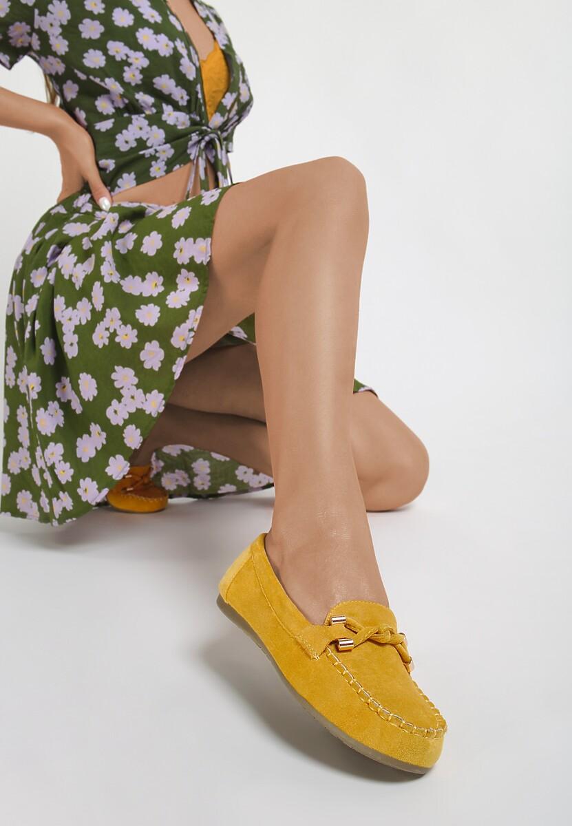 Żółte Mokasyny Vivirin Kod produktu: 113834