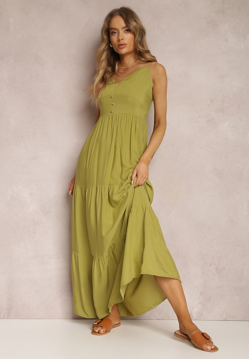 Jasnozielona Sukienka Fahey