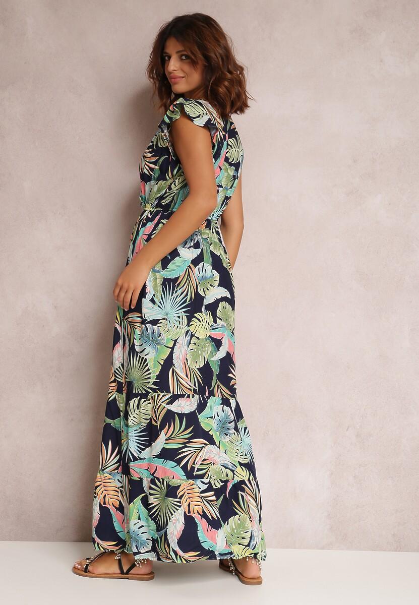 Granatowa Sukienka Zoerina