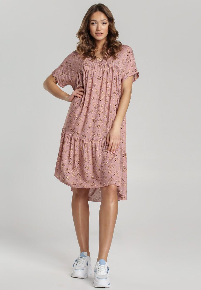 Jasnoróżowa Sukienka Loraemere