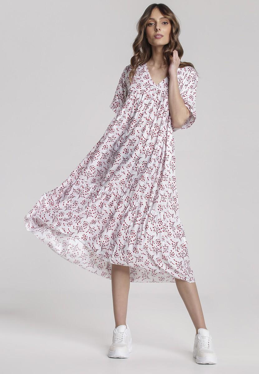 Biała Sukienka Loraemere