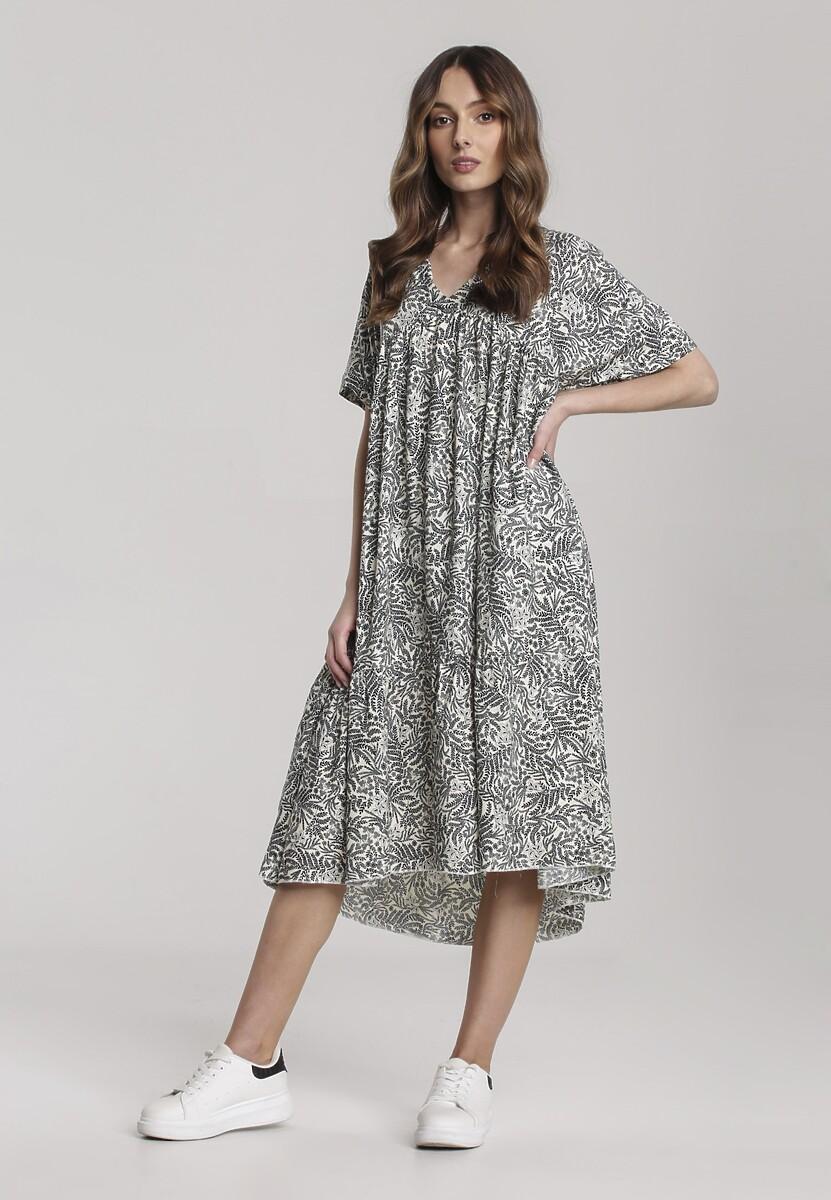 Kremowa Sukienka Alluros