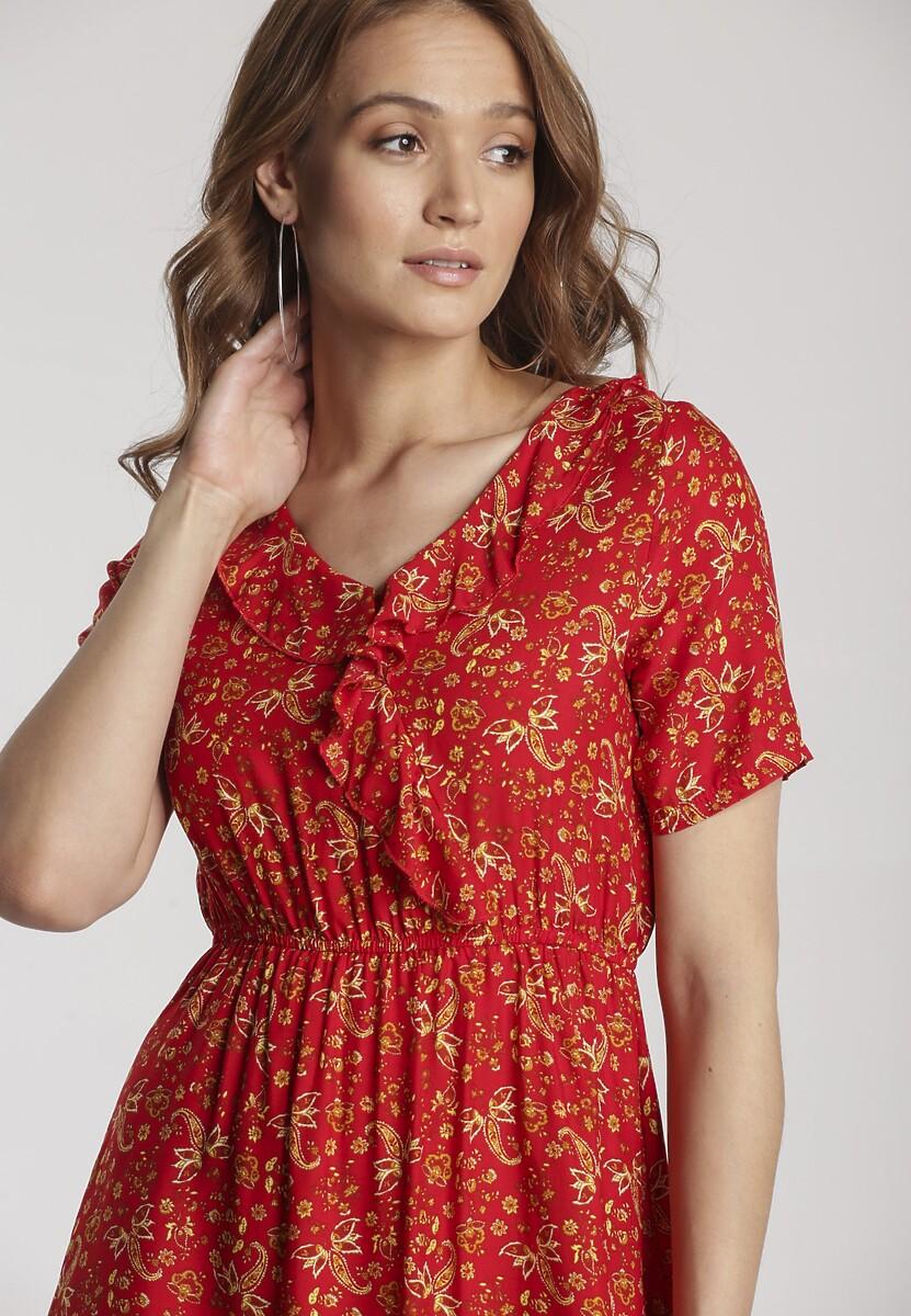 Czerwona Sukienka Aegarissa
