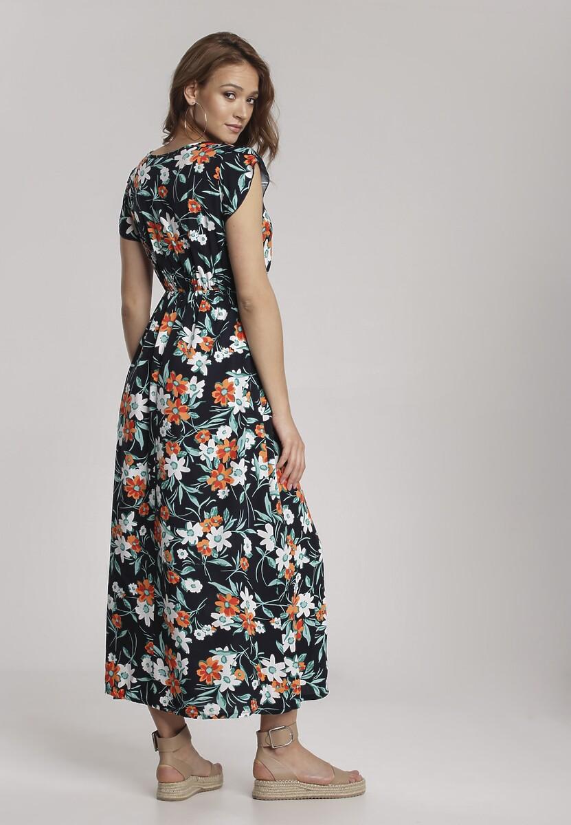 Granatowa Sukienka Coraphine