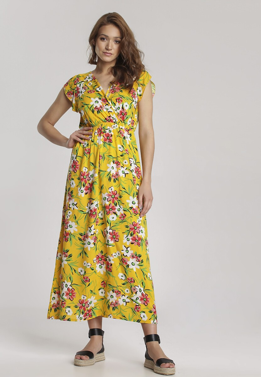 Żółta Sukienka Coraphine