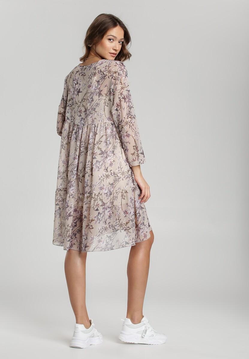 Kremowa Sukienka Jenyra