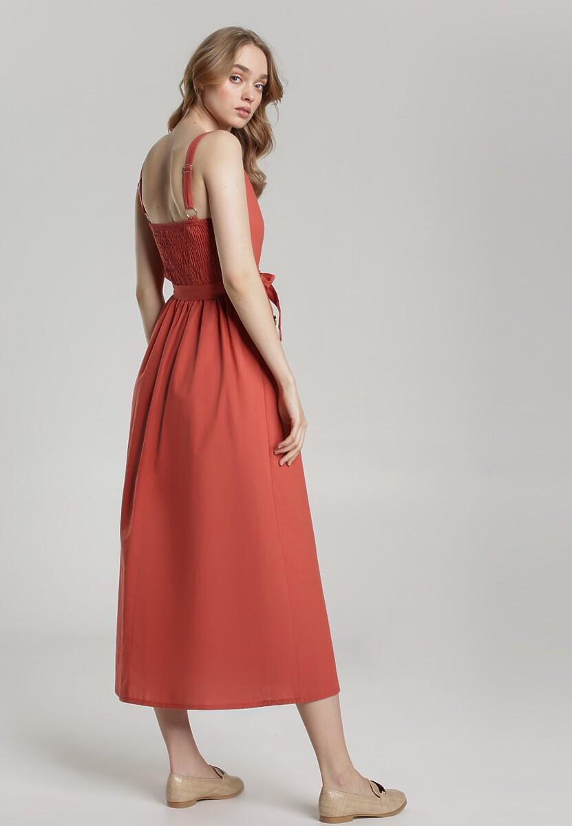 Łososiowa Sukienka Nadenah