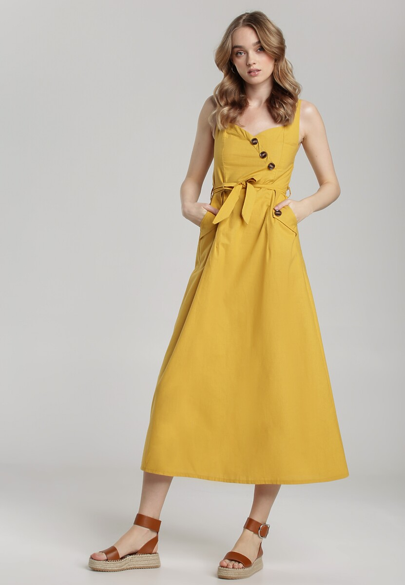Żółta Sukienka Nadenah