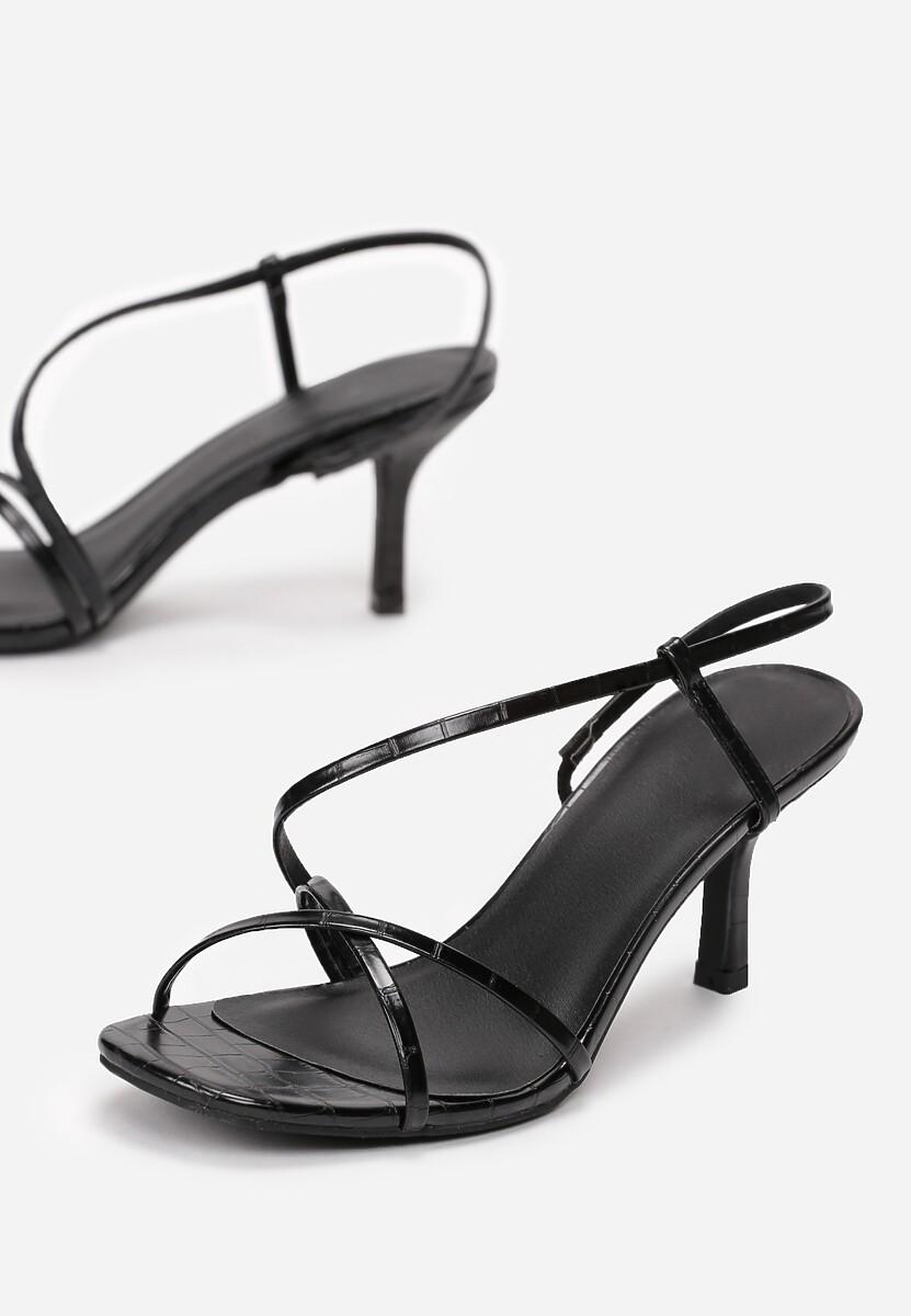 Czarne Sandały Best For One