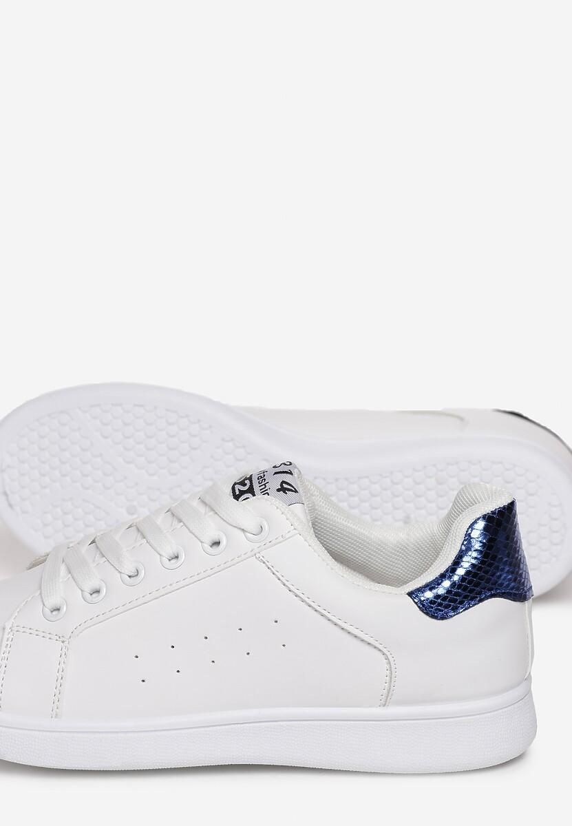 Biało-Niebieske Buty Sportowe Tune of Love