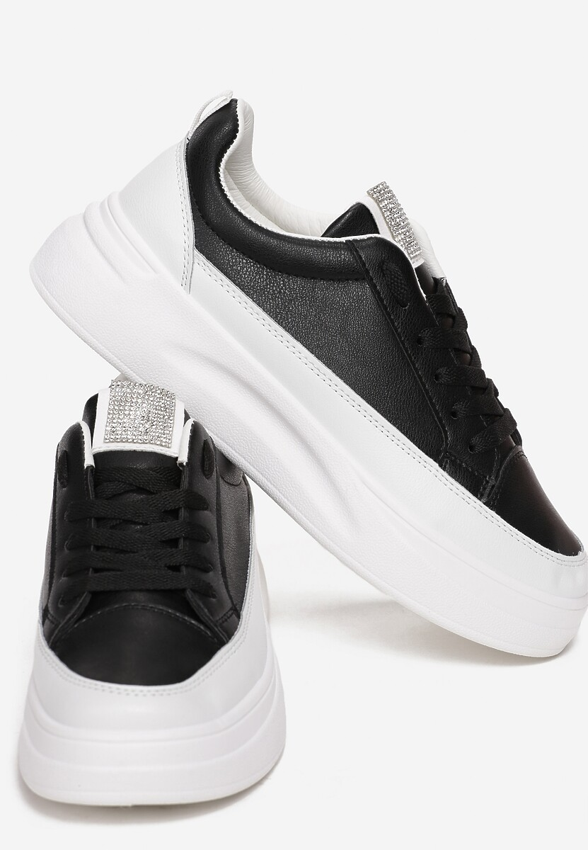 Czarne Sneakersy Kahley