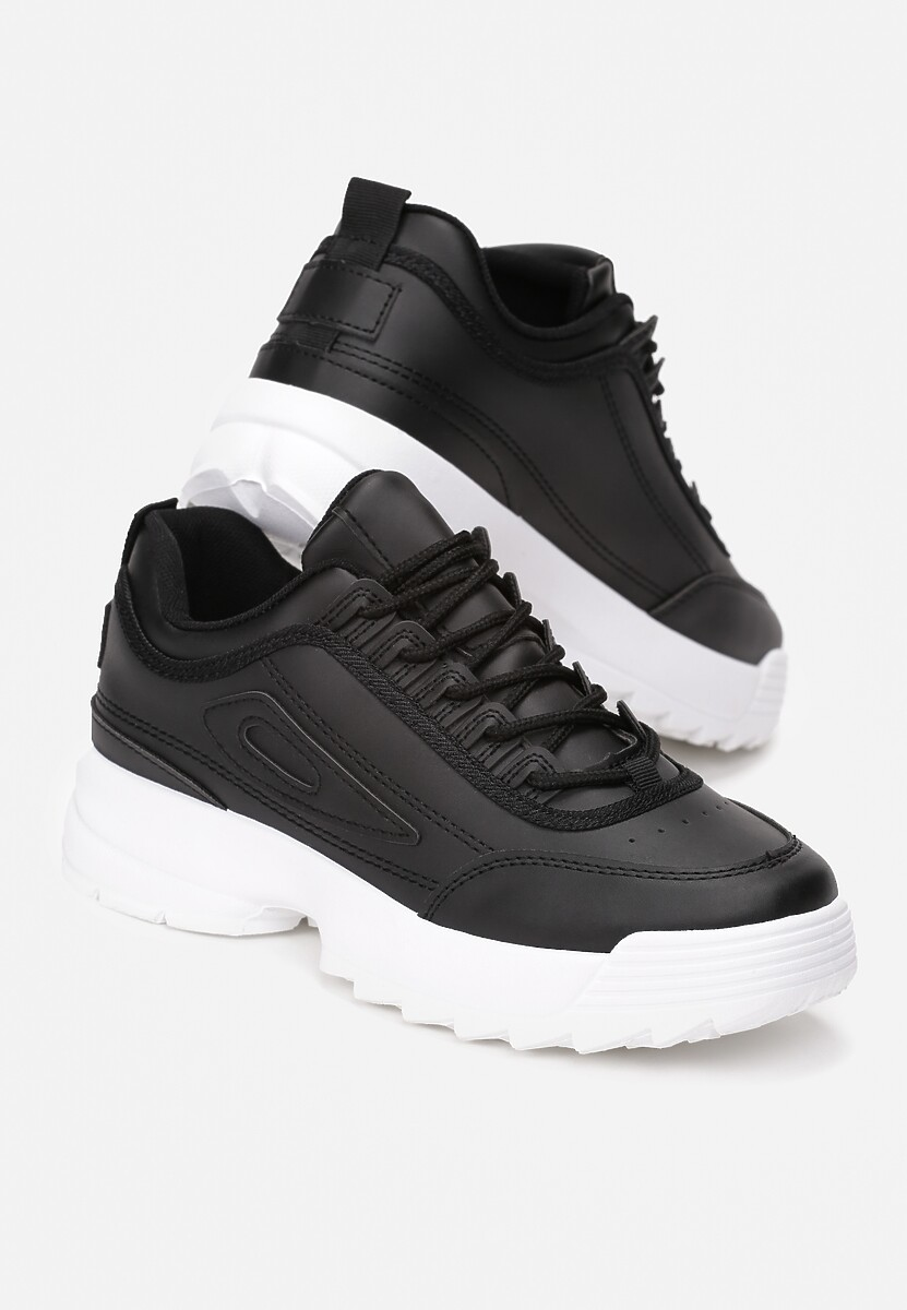 Czarne Sneakersy We Can Do This