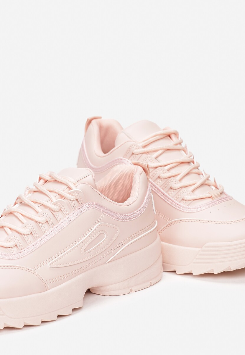 Jasnoróżowe Sneakersy We Can Do This