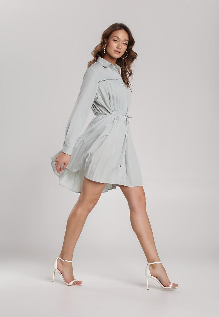 Błękitna Sukienka Newfalls