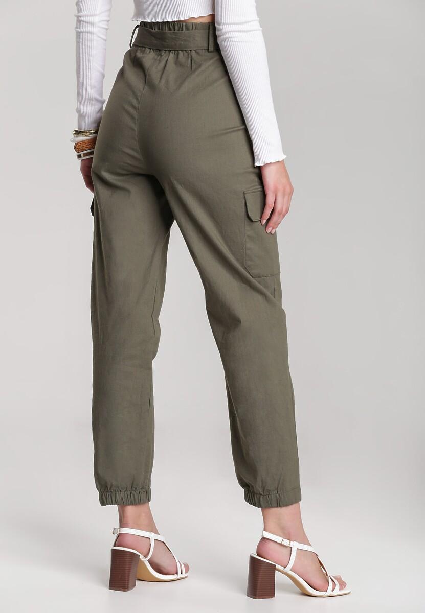 Ciemnozielone Spodnie Maipise