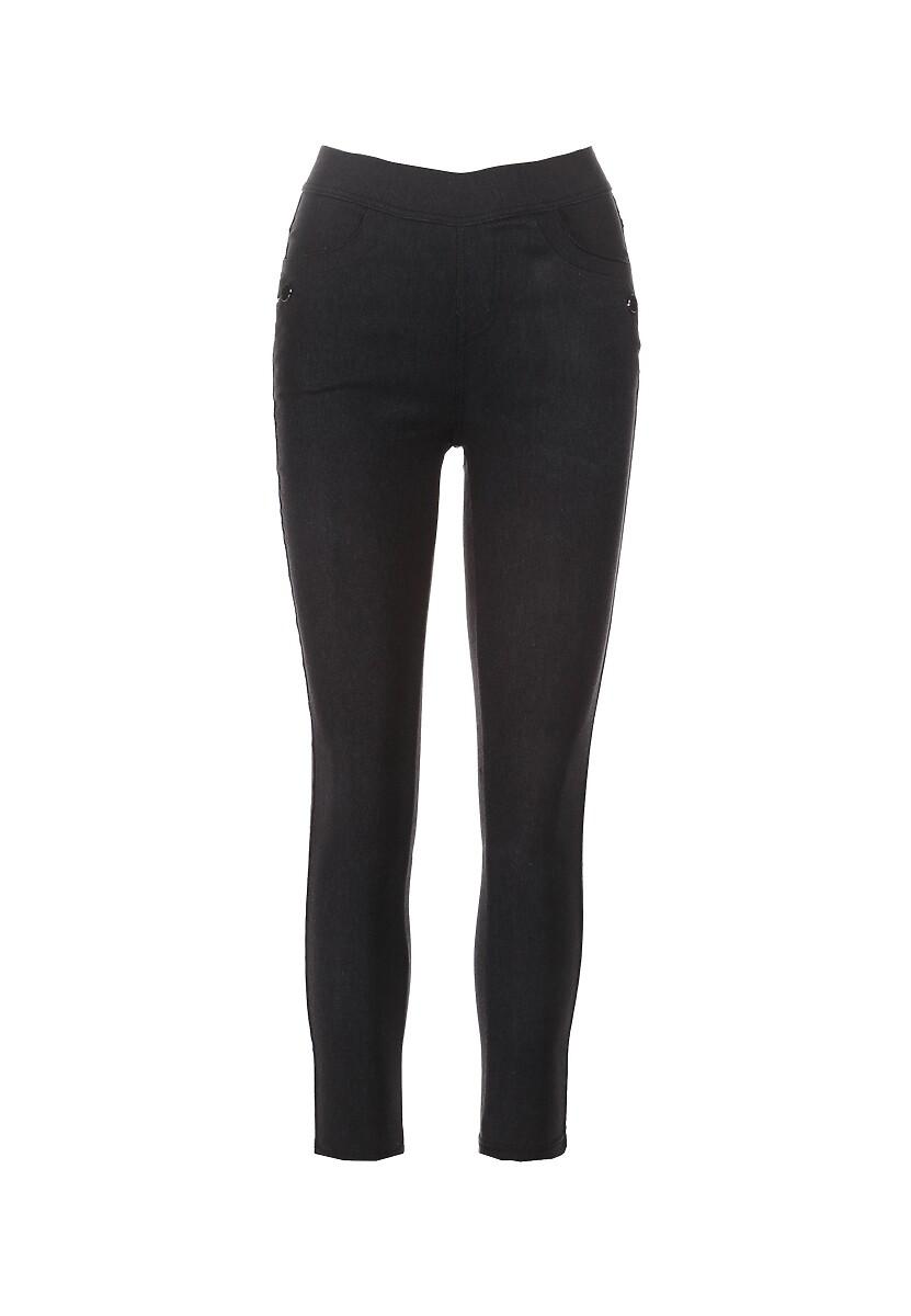Czarne Spodnie Calilodia
