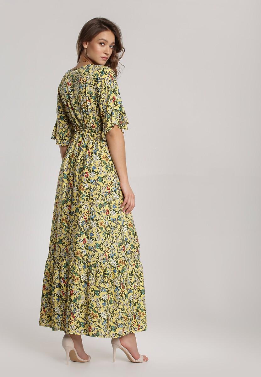 Żółta Sukienka Hirane