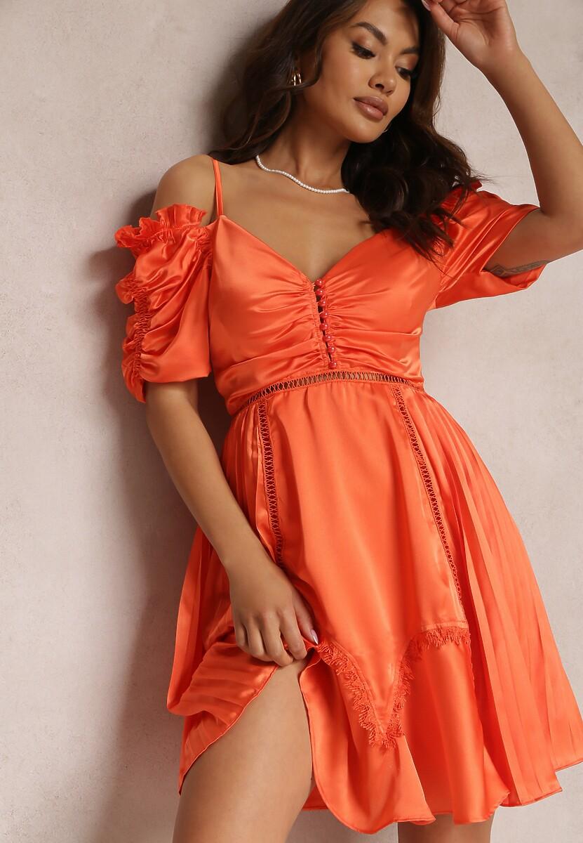 Koralowa Sukienka Silkport