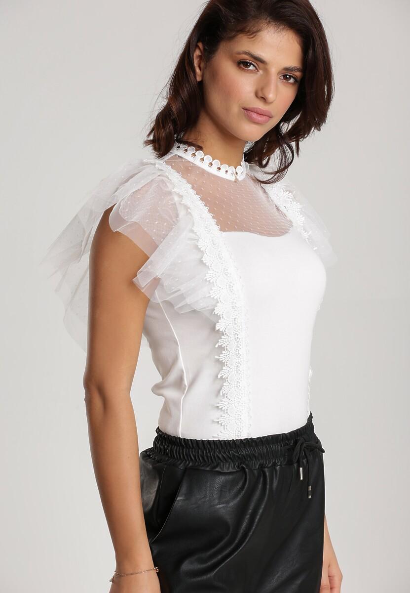 Biała Bluzka Ackerly