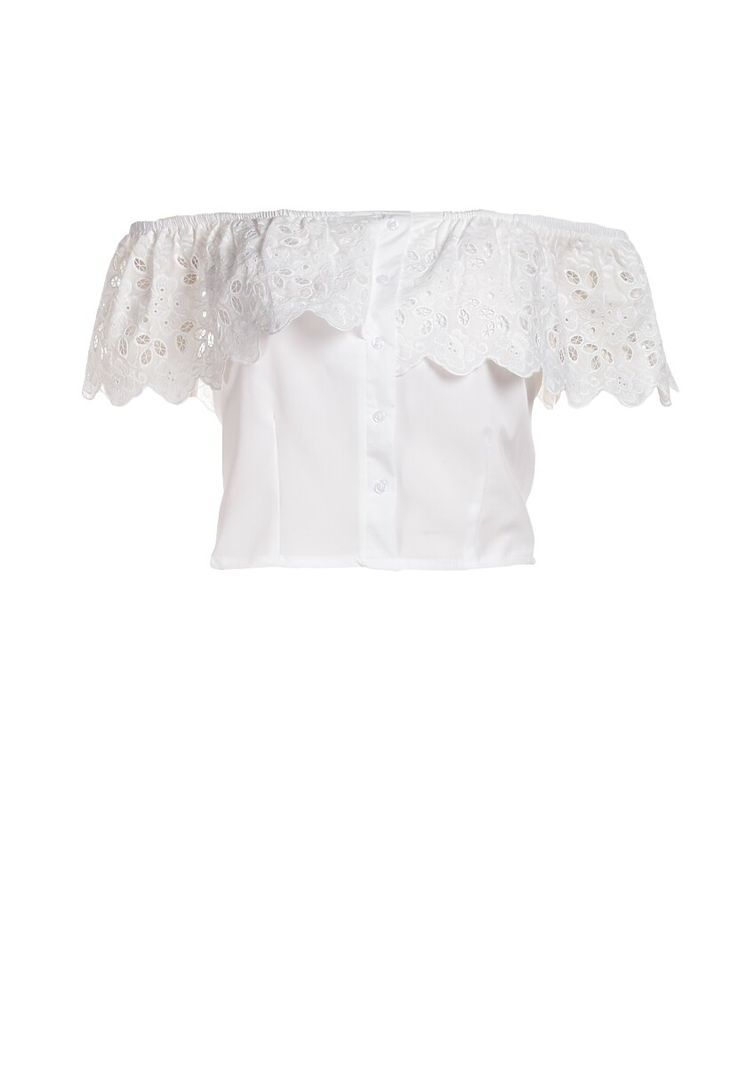 Biała Bluzka Mythhill