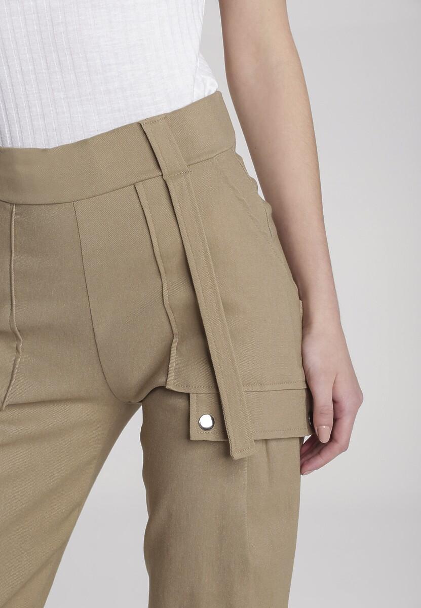 Beżowe Spodnie Susana