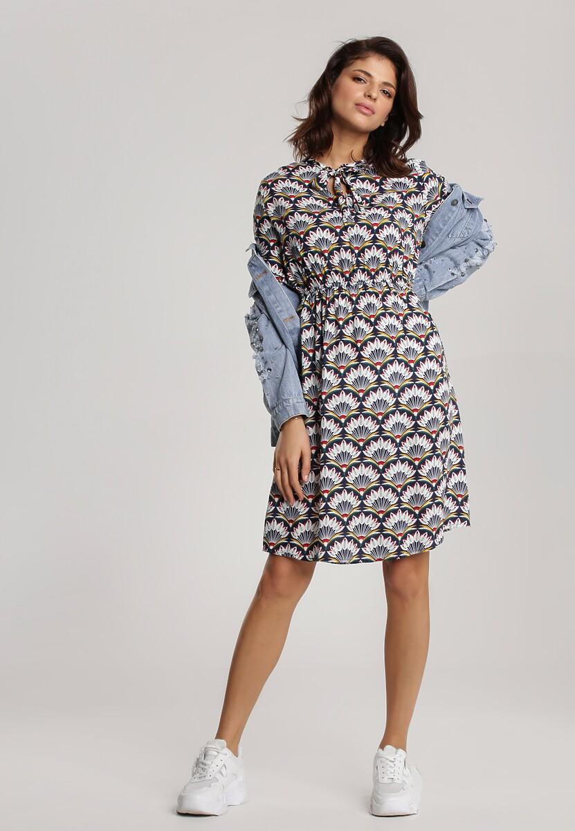 Granatowa Sukienka Naiara
