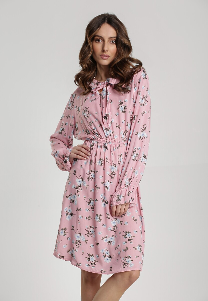 Różowa Sukienka Roan