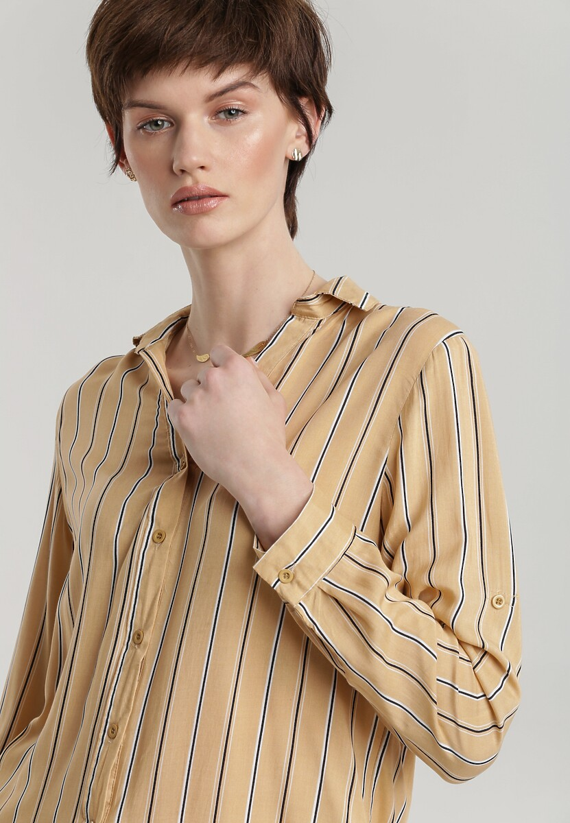 Jasnobeżowa Koszula Plummere