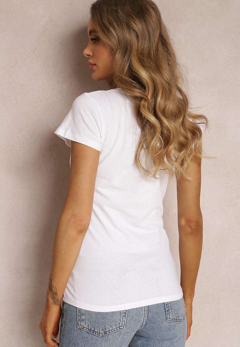 Biały T-shirt Ariema