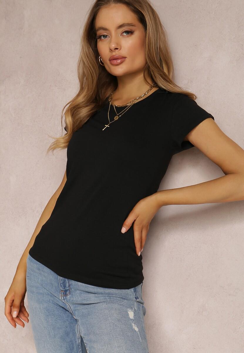Czarny T-shirt Ariema