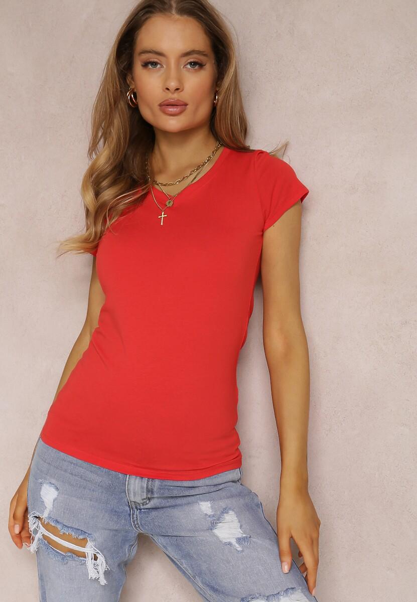 Czerwony T-shirt Mirasura