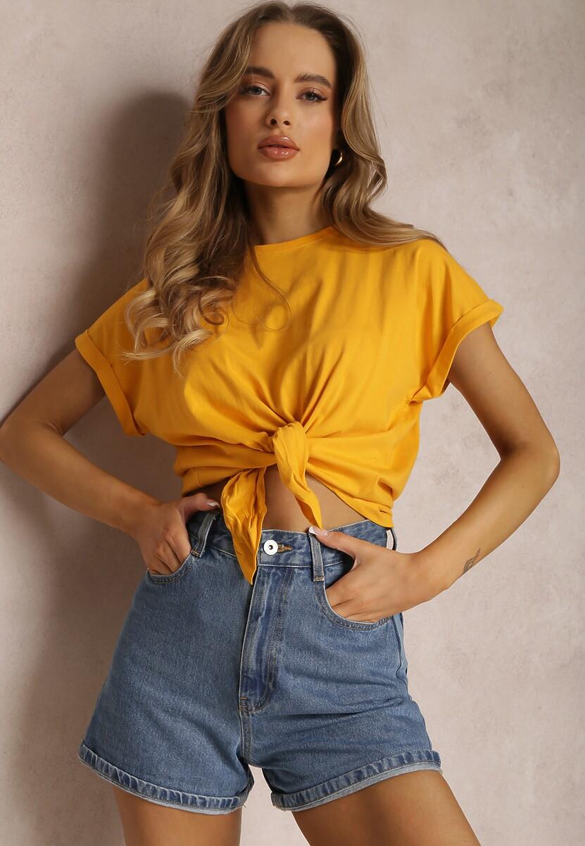 Żółty T-shirt Oararith Kod produktu: 116227