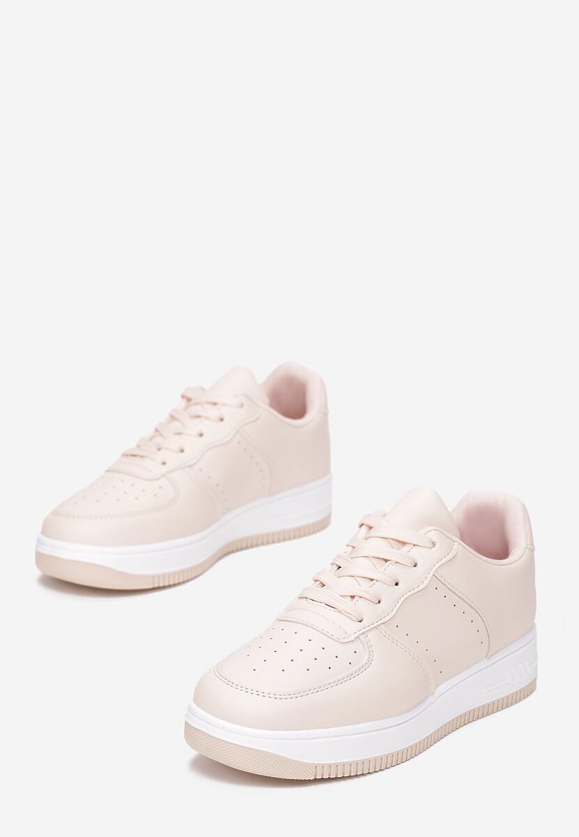 Różowe Sneakersy Coralin