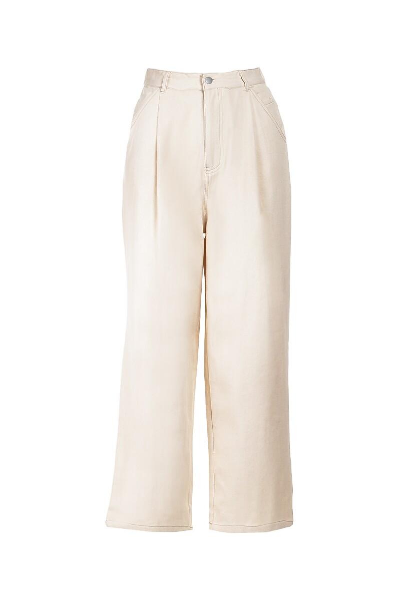Kremowe Spodnie Alapea