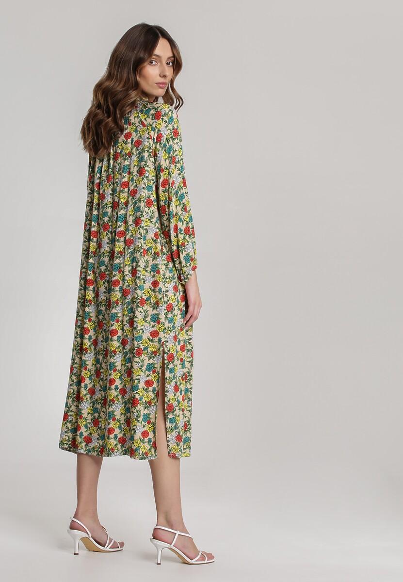 Jasnobeżowa Sukienka Hailophi