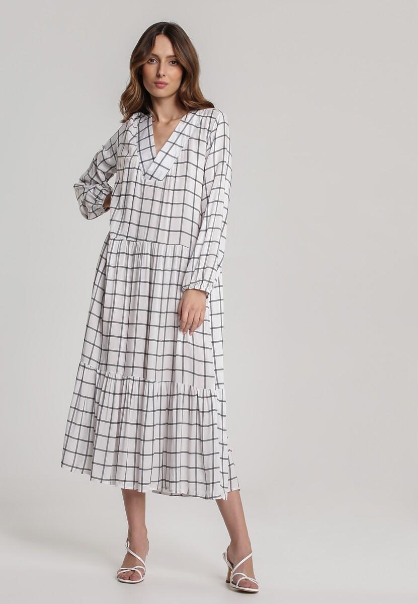 Biała Sukienka Rhenedoe