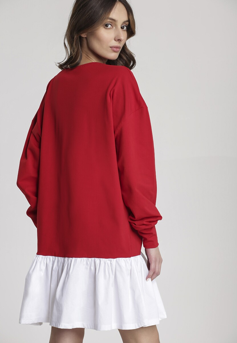 Czerwona Sukienka Genisura