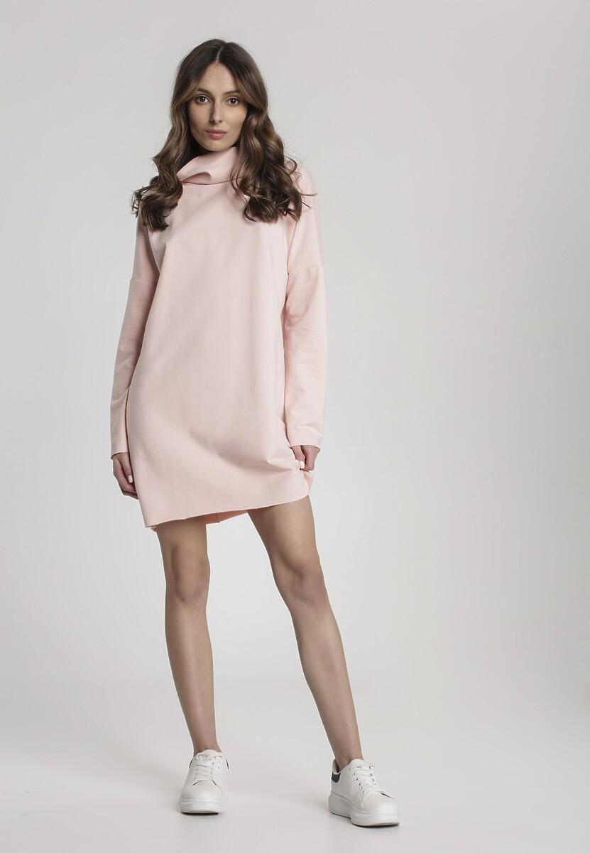 Jasnoróżowa Sukienka Kallilis