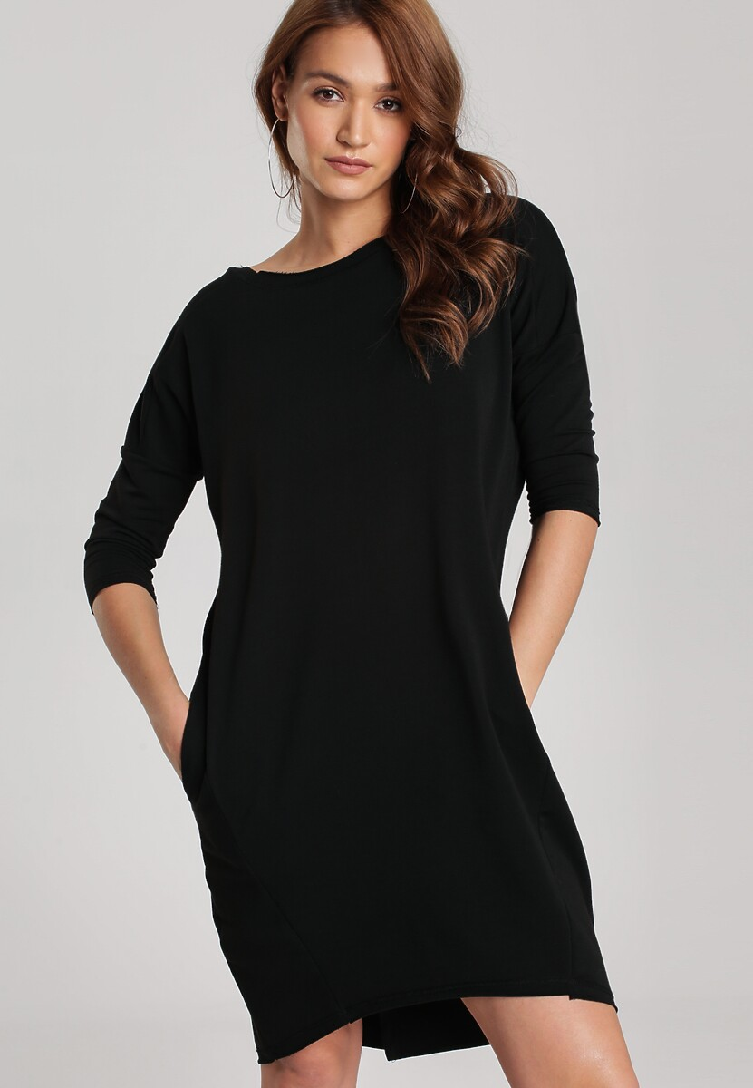 Czarna Sukienka Alcirope