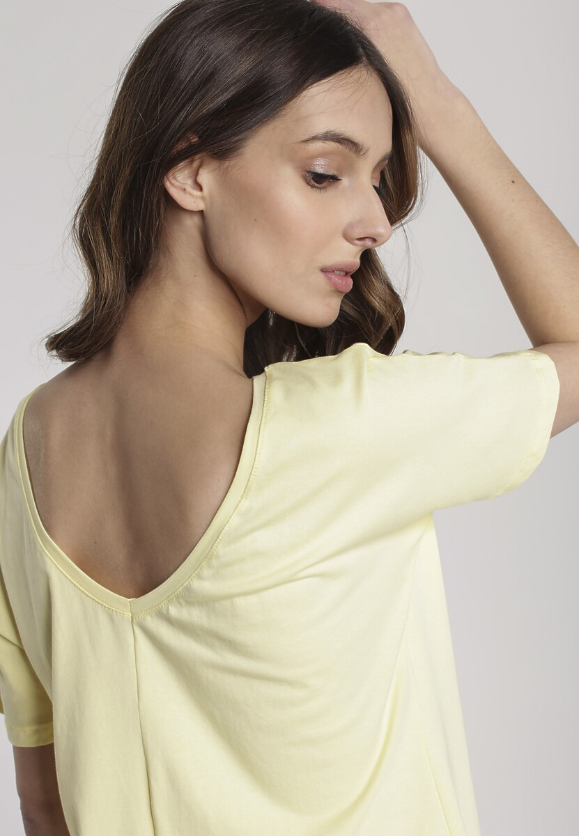 Żółty T-shirt Sabrimisia