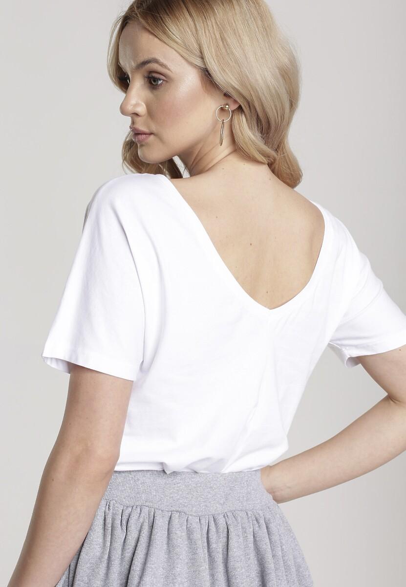 Biały T-shirt Sabrimisia