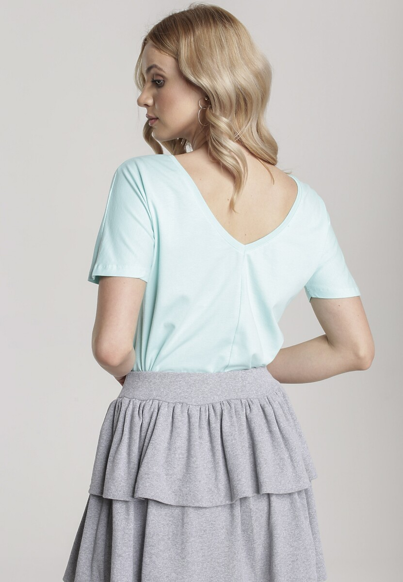Jasnoniebieski T-shirt Sabrimisia